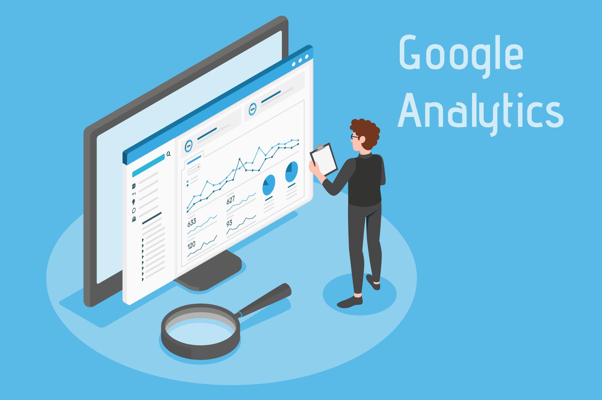 beitragsbild GoogleAnalytics4 Interne Suche einrichten